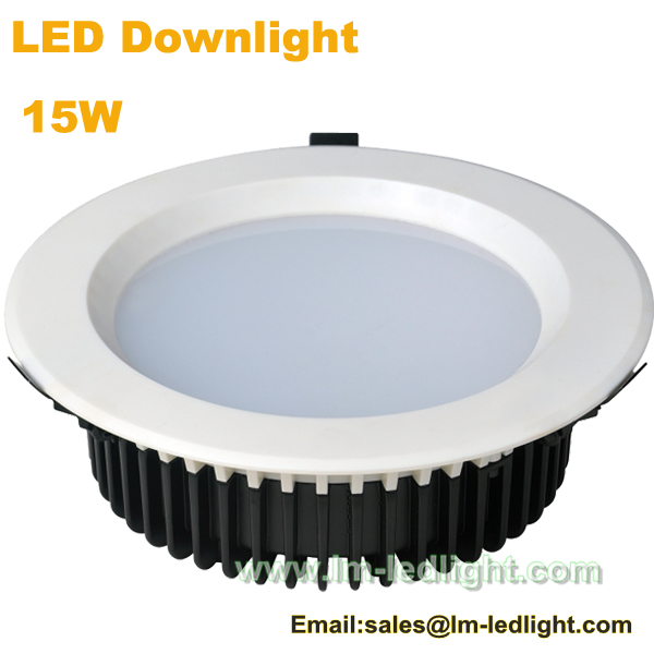 led downlight dimmable 15w led puck lights in downlights from lights. Black Bedroom Furniture Sets. Home Design Ideas
