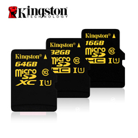 Original Kingston Micro SD Card 16GB 64GB Memory Card 32GB Class 10 SDHC UHS I U1