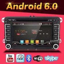 Android 6.0 dvd-плеер автомобиля gps-навигация для SKODA VW йети Superb Быстрое Fabia Octavia автомобиль видео плеер, радио GPS 2 din