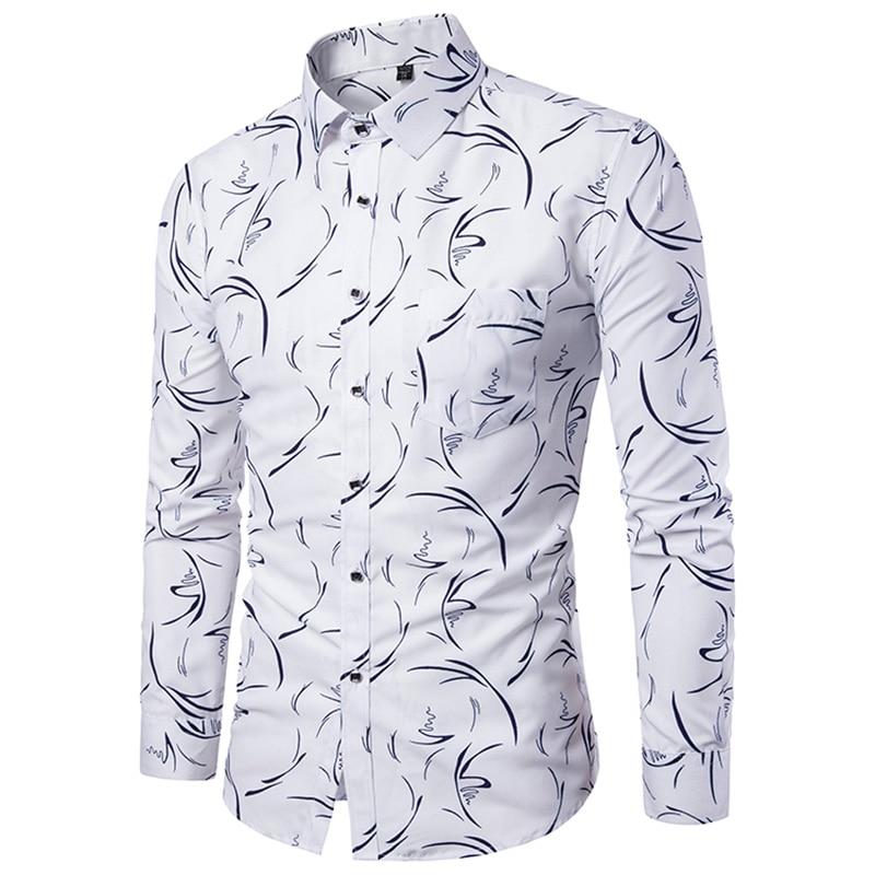 2018 New Arrival Mens Summer Business Shirt Short Sleeves Turn-down Collar Tuxedo Shirt Shirt Men Shirts Big Size 5XL