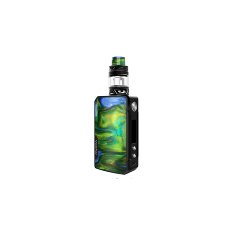 Electronic Cigarette Voopoo Drag 2 177W TC Kit With Uforce T2 SubOhm Tank U2/U3 Powered By Dual 18650 Battery Vape Kit-in Electronic Cigarette Kits from Consumer Electronics    2