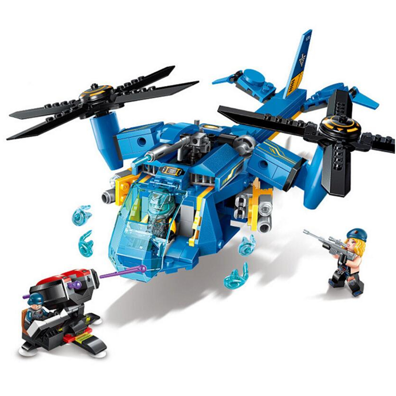 Building Blocks Compatible with Lego Enlighten E2709 318P Models Building Kits Blocks Toys Hobby Hobbies For Chlidren