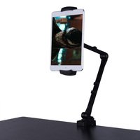 360 Rotate Tablet Stand Bed Long Arm Holder Desk Clamp Mount Bracket 4 12.9 inch for iPad Pro 9.7/11/10.5 /12.9 Air 2 Mini 4 3 2
