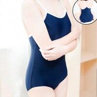 Swimwear lolita mulheres menina estudante da escola japonesa sexy Bonito do anime cosplay Su ku água um pedaço swimsuit do biquini com alça conjuntos