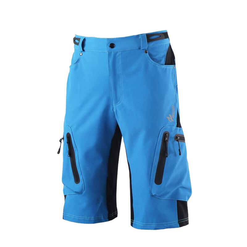 Prix pour Hommes Sports de Plein Air Cyclisme Vêtements Descente VTT Shorts Vtt Vélo Shorts Usure Jersey 3 Couleurs