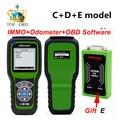 Obdstar pros c + d + e modelo clave programador x100 con eeprom adaptador + reemplazar inmovilizador + ajuste del odómetro x-100 pro