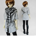 Fashion Unisex Casual Hoodie Jacket Coat 2 colors for BJD 1/4,1/3,SD16,SD17,Uncle,SSDF SD Luts DZ AS Doll Clothes CMB20