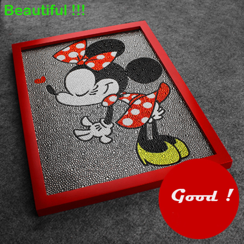 Beautiful Minnie Mouse 5D Diy Diamond Painting 3 Sizes Shining Rhinestone Diamonds Cross Stitch Painting Minnie as Gifts 40x30cm