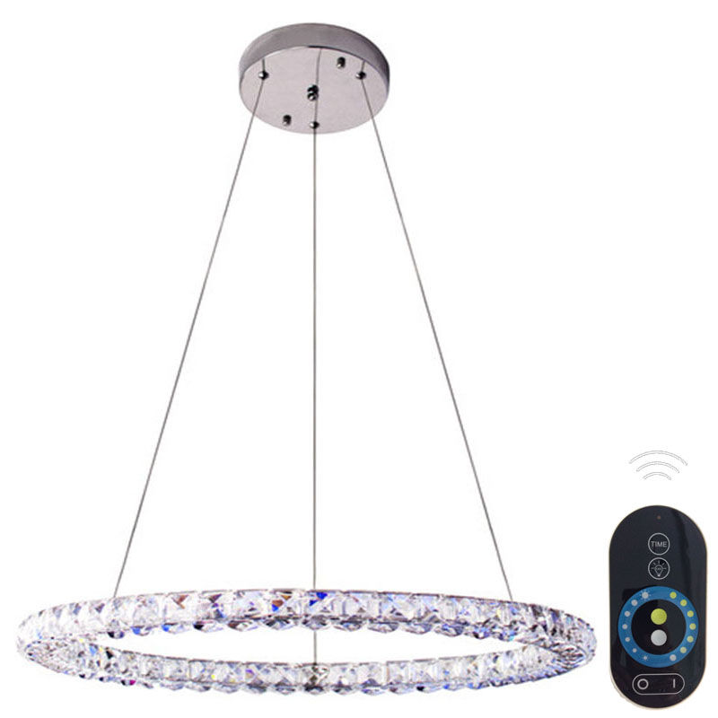 Dimmable Modern Brief Crystal Pendant Light Fashion Pendant Lights Bar Restaurant Lamp Hanging Wire Crystal Lighting  VALLKIN fashion pendant light bar pendant light brief modern pendant light