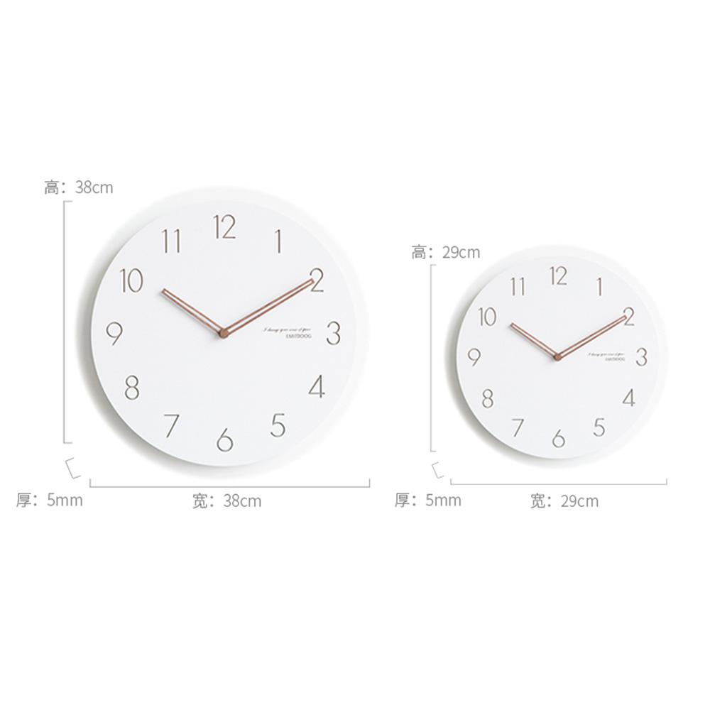 Modern Nordic Jam Dinding Minimalis Besar Jam Dinding Samping Tempat Tidur  Bisu Jam Kreatif Jam Meja Dekorasi Rumah b7d20d905a