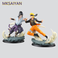 Naruto Anime Uzumaki Uchiha Sasuke PVC Action Figure Naruto Shippuden Collectible Decoration Model Toys Juguetes 26cm Gift XM