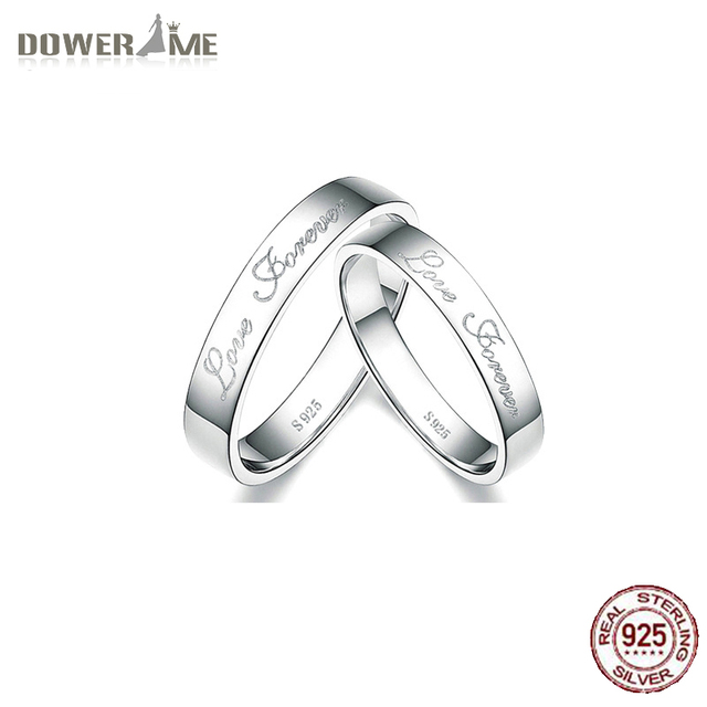 097a46fb9b Dower Me 925 Sterling Silver Rings Buddhist Monastic Discipline Han Edition  of Love Engagement Ring for Men and Women Lovers H15