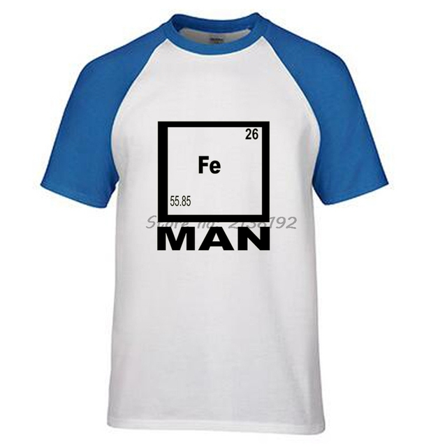 Adult student iron science t shirt funny chemistry shirt fe adult student iron science t shirt funny chemistry shirt fe periodic table tee 2017 new summer urtaz Images