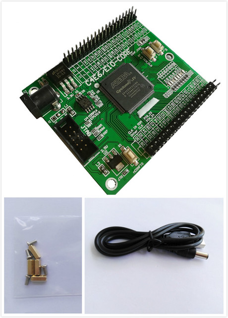 EP4CE6 altera fpga board fpga development board fpga altera board +  fpga development board cyclone IV