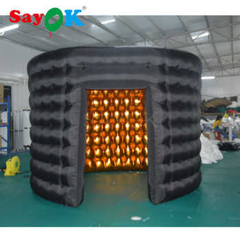Oval Inflatable Photo Booth Enclosure Inflatable Photo Booth Tent for Party Events - DISCOUNT ITEM  0% OFF All Category