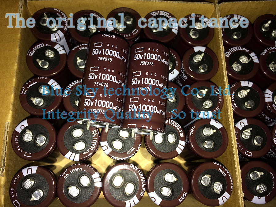 50PCS NCC Nippon 50v 10000uf 25mmx50mm KMQ Aluminum Electrolytic Capacitors Japan