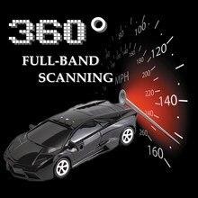 360 Degree Full-Band Car Radar Laser Detector Speed GPS Protection Voice Alert Safety Alarm System Car-Detector