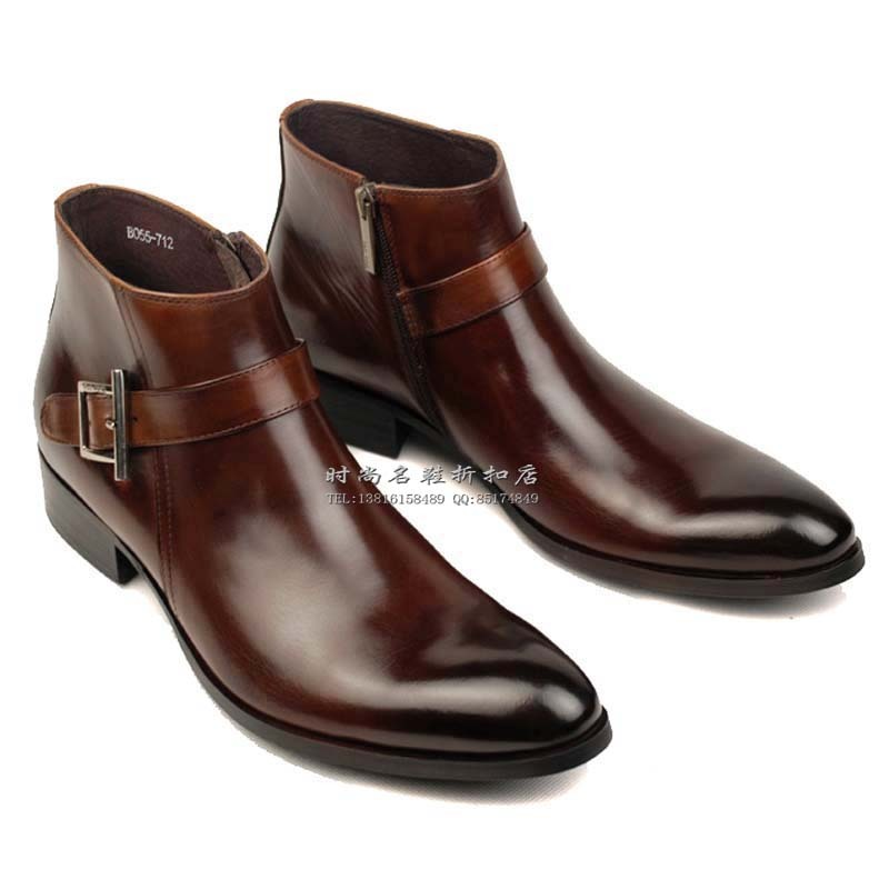 Online Shop 2013 Fashion new dress cowhide genuine leather shoes ...