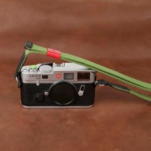 Image 5 - Cam in 1441 1455 شريط كاميرا عالمية الرقبة الكتف حزام حمل 15 ألوان مريحة القطن والجلود الناعمة