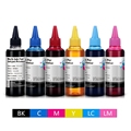 600ML T0821 Ink Refill Kits For Epson R270 R390 TX650 T50 T59 RX590 TX700W TX800W T50 TX720 TX700 TX800 RX610 Printer Dye Ink