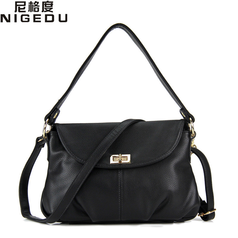 Luxury  Women Messenger Bags Candy Color Bag For Womenin Shoulder Bags From