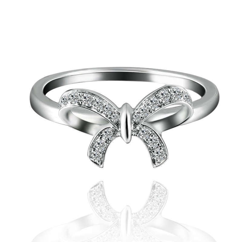 18K Gold Diamond Ring White Gold Diamond Ring Butterfly Wedding Ring     18K Gold Diamond Ring White Gold Diamond Ring Butterfly Wedding Ring Women Rose  gold Pt950 in Rings from Jewelry   Accessories on Aliexpress com   Alibaba