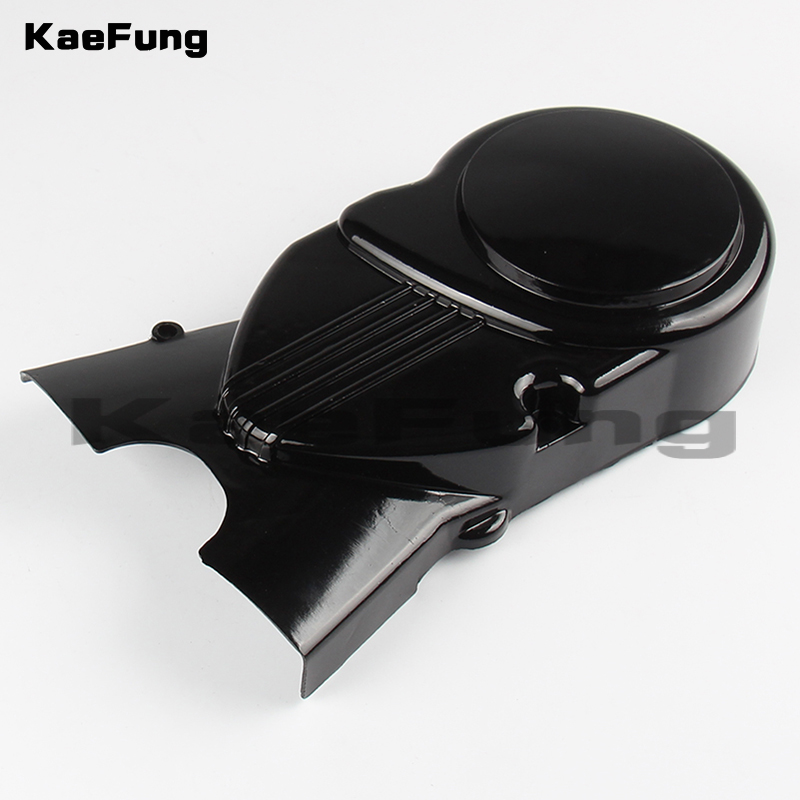 motorcycle dirt pit bike parts <font><b>Engine</b></font> Magnetor Left Side Cover <font><b>70CC</b></font> 110CC 125CC 140CC <font><b>lifan</b></font> Apollo Dirt Bikes Pit Bike image