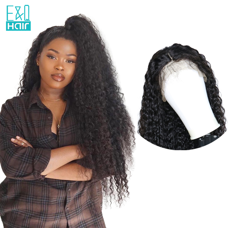 EQ Water Wave Full Lace Human Hair Wigs For Women Pre Plucked Hairline With Baby Hair
