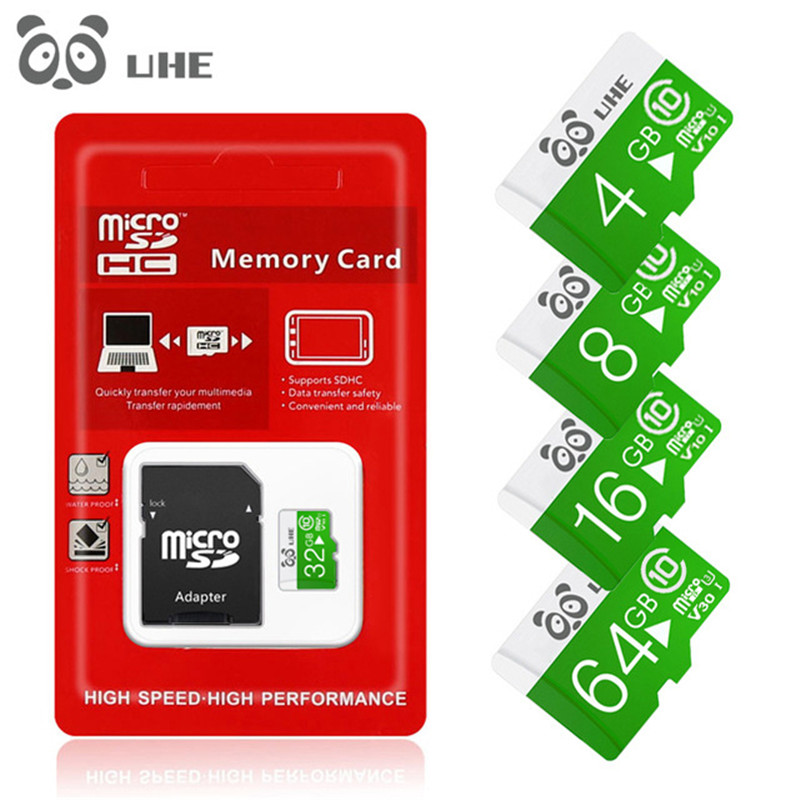High Speed Memory Cards 4GB 8GB 16GB Micro SD Card 32GB 64GB Microsd TF Carte Memory Stick SDXC Mini Gifts Free Shipping