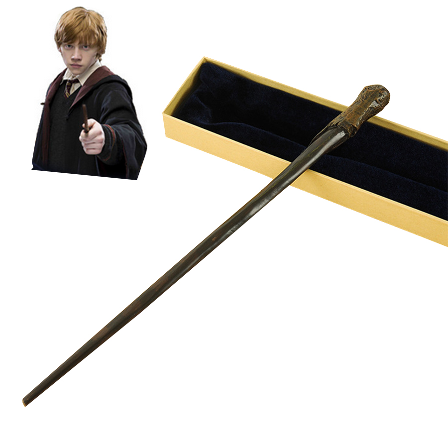 Metal Core Ron Weasley Magic Wand/  Potter Magical Wands/Quality Gift Box Packing  for Harri Potter Cosplay