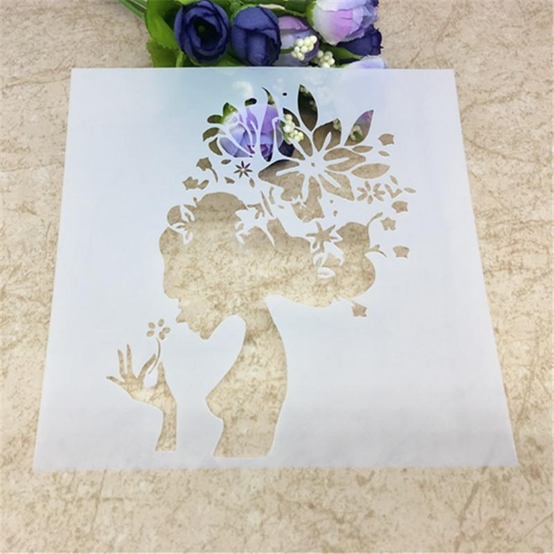 Layering Stencils DIY Scrapbooking Decor Embossing Paper Cards Craft