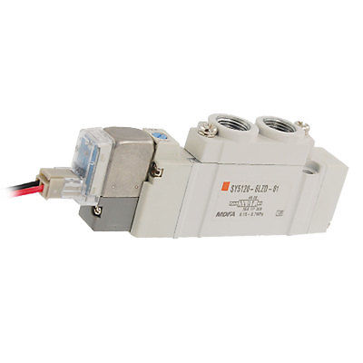 SY5000 L Plug Connector Pneumatic Solenoid Valve DC 12V 3924450 2001es 12 fuel shutdown solenoid valve for cummins hitachi