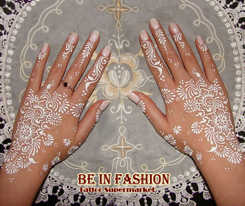 New White Henna Tattoo Paste Cone Women Lady Bride Party Wedding Indian GOLEHCA Mehndi Cream Hand Body Nail Paint 25g Pc In Temporary Tattoos From