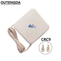 35dBi GSM High Gain 4G LTE Antenna CRC9 Connector External Indoor WIFI Signal Booster Amplifier ANT for Huawei E3372 E3272