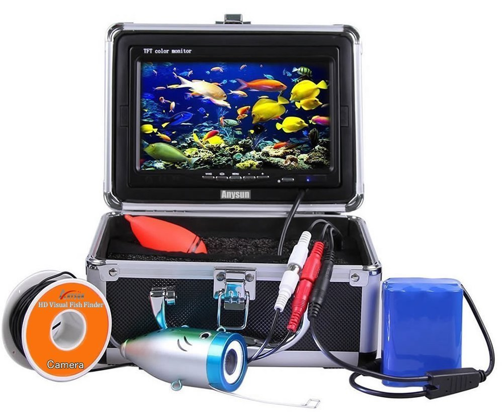 Computers/tablets & Networking 3d Printers & Supplies video Reco Underwater Fishing Camera With 7 Inch Monitor And Hard Carrying Case