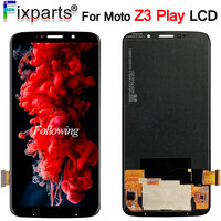6.01For Motorola Moto Z3 Play LCD Display Touch Screen Digitizer Assembly Replacement Parts For Moto Z3 Play XT1929 XT 1929 LCD