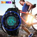 relogios masculino 2015 SKMEI Sports Watches Men Waterproof Fashion Casual Digital Clock Watch LED Military Army Wristwatches