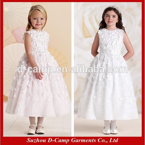 0e8e09d6b5 Free Shipping FG-114 Floral design kids wedding dresses for children indian  wedding dresses girls