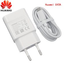 HUAWEI Original 5v 2a EU charger+micro adapter usb tpye c for nova 3i 2i honor 8x 7c p6 p7 p8 p9 p10 lite mate 7 8 9 10 S Y6(China)