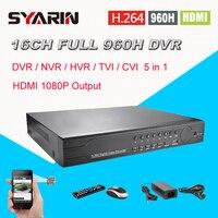 surveillance 16ch full 960H D1 realtime recording HI3531 DVR HDMI 1080P CCTV DVR NVR HVR video Recorder 16 channel CK 003