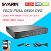 Home Surveillance 16ch Full 960H D1 Realtime Recording Security HI3531DVR HDMI 1080P CCTV DVR NVR HVR