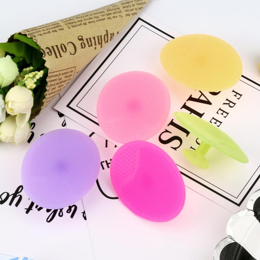 Hot!silicone Beauty Wash Pad Face Exfoliating Blackhead Facial Cleansing Brush Tool Drop Shipping Aug24