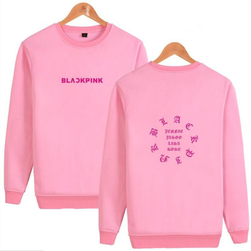 500b8e281732e KPOP BLACKPINK Album Harajuku Sweatshirt Women JENNIE ROSE LISA ...