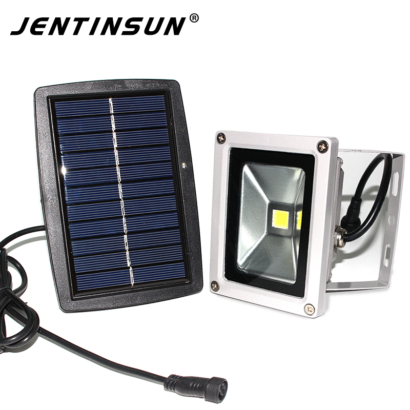New 6w Led Solar Flat Panel Flood Lamp Outdoor Lighting