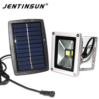 New LED Flat Panel Flood Light Light Sensor 10w Outdoor Lamp Project Lamp Led Solar Light