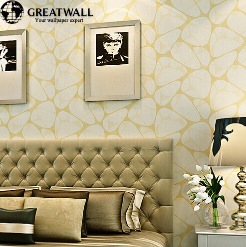 Modern 3D Stone Wallpaper for Living Room Bedroom Yellow/Pink/White/Blue Damask Wall Paper Roll Wallcoverings papel de parede yellow vintage classic beige french modern damask feature wallpaper wall paper roll for living room bedroom ds 162031