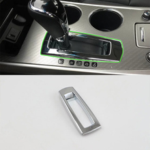 цена на Car Accessories LHD ABS Interior Front Center Gear Shift Panel Cover Trim For Nissan Altima 2016 Car Styling