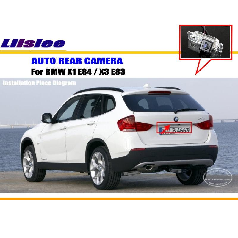 Liislee Car Parking Camera    Reverse Camera For Bmw X1 E84    X3 E83    Rearview Camera    License
