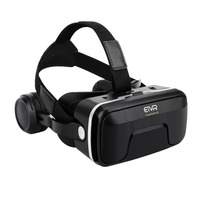 New ETVR VR Box 3D Glasses Virtual Reality Stereo Headphones And Adjustable Straps For IOS Android