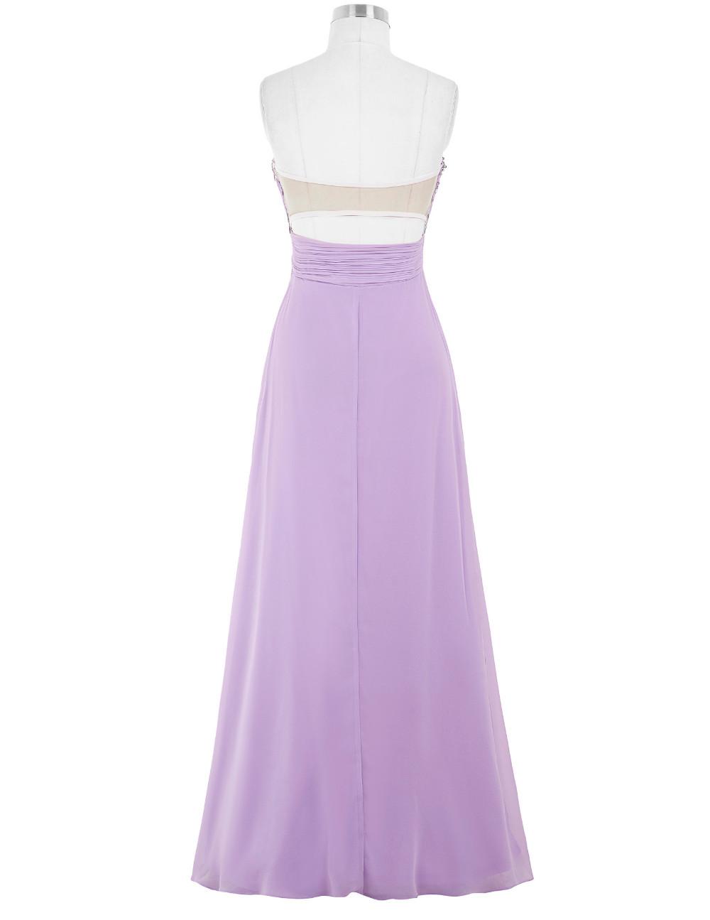 Lavender Green Blue Bridesmaid Dresses Long Wedding Party Dress Bruidsmeisjes Jurk Chiffon Gelinlik Prom Dresses for Bridesmaids 7